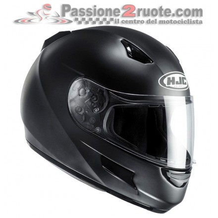 Casco Hjc Cl-Sp Semi Flat Black