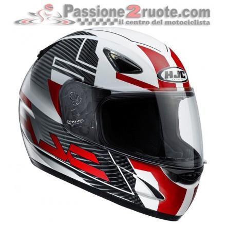 Casco integrale moto Hjc Cs-14 Suna Mc1 nero rosso black red helmet casque