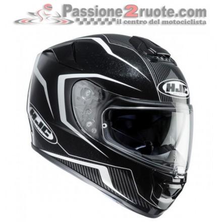Casco integrale moto in fibra con visierino parasole Hjc Rpha St Dabin Mc5 Helmet Casque