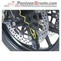 M058 Disc Lock 10 mm bloccadisco lucchetto per freno a disco in lega di zinco