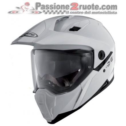 Casco integrale enduro strada Caberg Xtrace White helmet