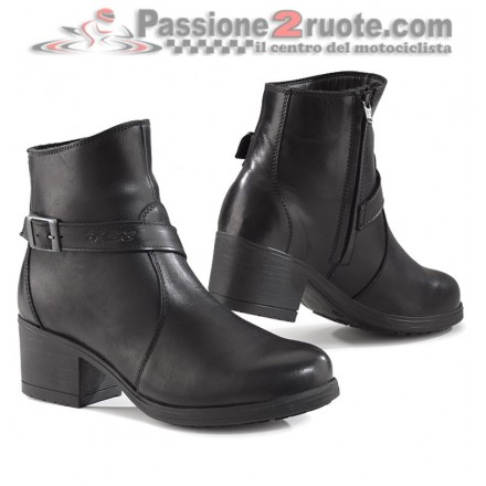Stivaletti scarpe moto donna Tcx X-boulevard wp waterproof woman shoes boots