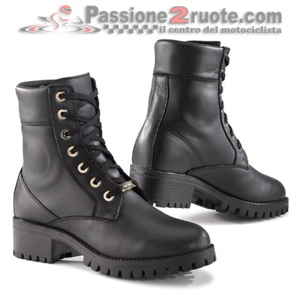 Stivaletto stivali scarpe moto donna Tcx lady smoke wp waterproof woman shoes boots