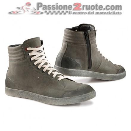 Scarpe moto impermeabili Tcx X-Groove Wp Waterproof urban grey shoes