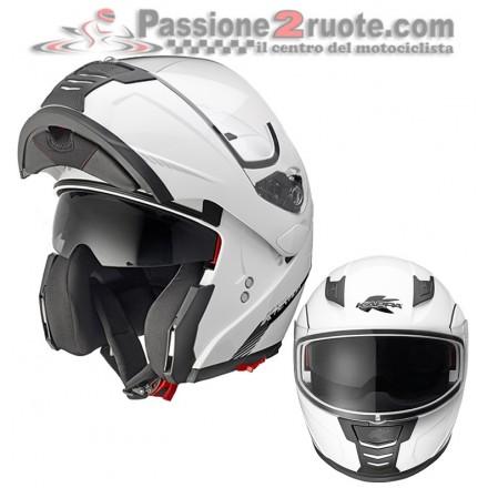 Casco modulare Kappa Kv25 Nevada Bianco helmet