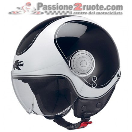 Casco jet moto scooter Kappa Kv8 Cosmo black white helmet