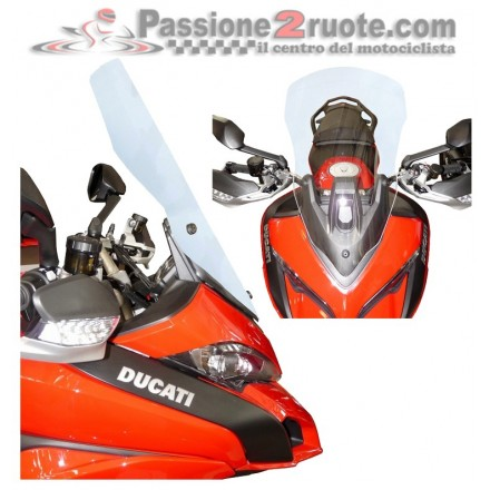 Cupolino Ducati Multistrada 1200 Fabbri Gen-X Touring DX183C screen windshield