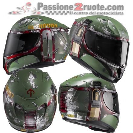 Casco integrale moto Hjc Rpha 11 Star Wars Boba Fett Helmet casque