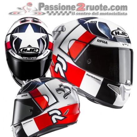 Casco integrale moto Hjc Rpha 11 Ben Spies Helmet casque