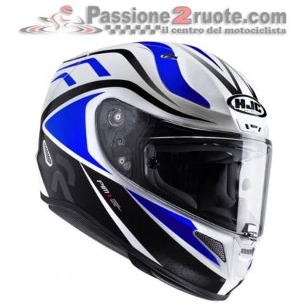 Casco integrale moto Hjc Rpha 11 Vermo bianco blu white blue MC2 Helmet