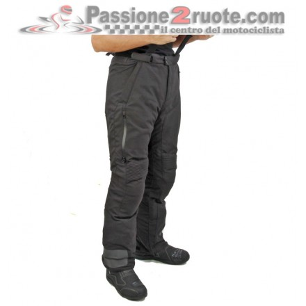 Pantaloni moto touring Oj Revolution nero black Pant