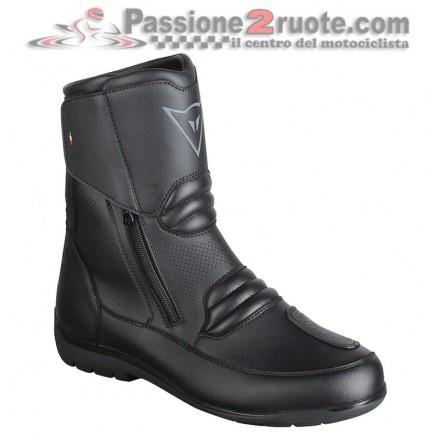 Scarpe stivali bassi moto Dainese Nighthawk D1 Gore-Tex Low Boots Nero shoes