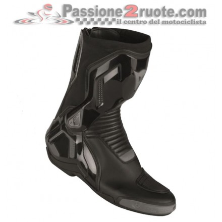 Stivali moto racing pista corsa Dainese Couse D1 out nero black boots