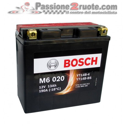 Batteria 12V 12Ah 130A(EN) Bosch M6 020