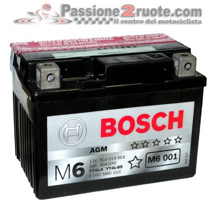 Batteria YT4L-4 YT4L-BS Bosch M6 001 MBK