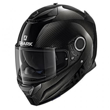 Casco integrale moto carbonio Shark Spartan Carbon Skin black antracite helmet casque