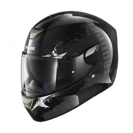 Casco Shark Skwal Trooper Black Anthracite Silver