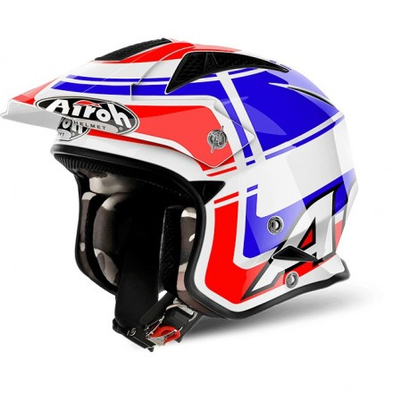 Casco Airoh Trr S Wintage Blue Gloss