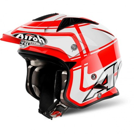 Casco Airoh Trr S Wintage Red Gloss