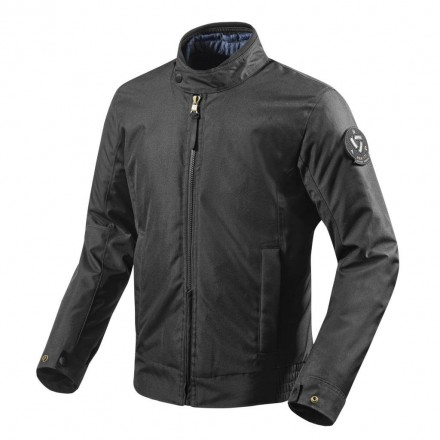 Giacca moto scooter urban city RevIt Woodbury Black jacket