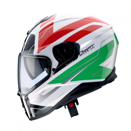 Casco integrale fibra Caberg Drift shadow Italia Italy helmet casque