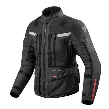 Giacca moto touring revit Rev'It Sand 3 Black jacket
