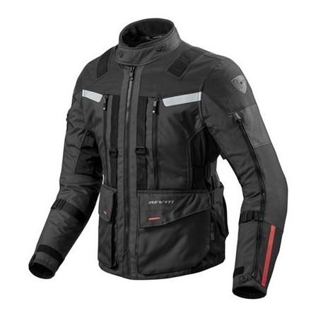 Giacca moto touring revit Rev'It Sand 3 Black jacket