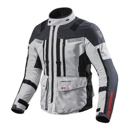 Giacca moto touring revit Rev'It Sand 3 Silver Anthracite jacket