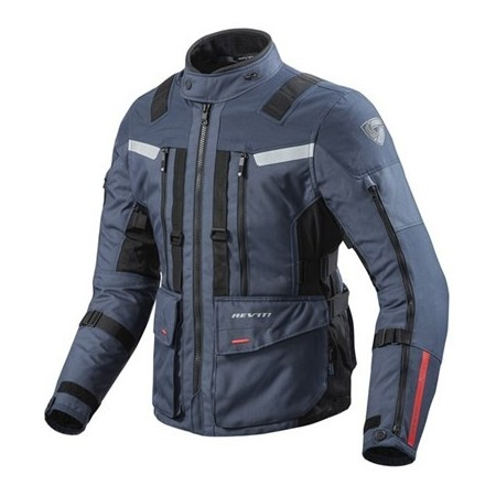 Giacca moto touring revit Rev'It Sand 3 Dark Blue Black jacket