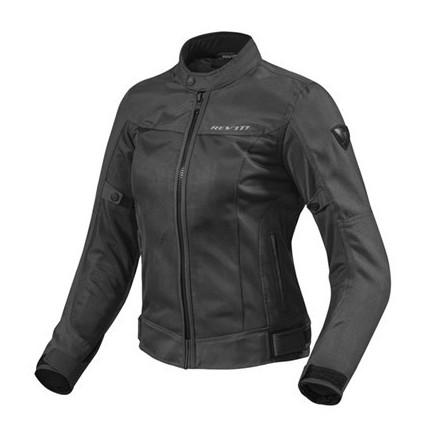 Giacca donna moto estiva traforata revit Rev'it lady Eclipse nero black woman mesh perforated summer jacket