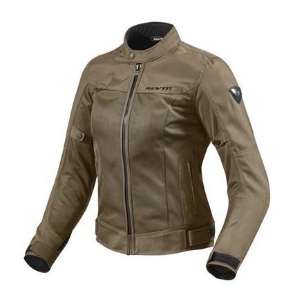 Giacca donna moto estiva traforata revit Rev'it lady Eclipse marrone brown woman mesh perforated summer jacket
