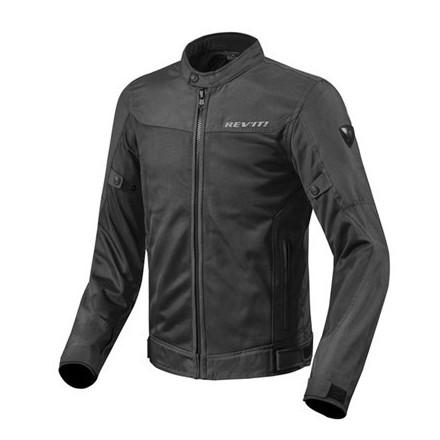 Giacca moto estiva traforata revit Rev'it Eclipse nero black mesh perforated summer jacket