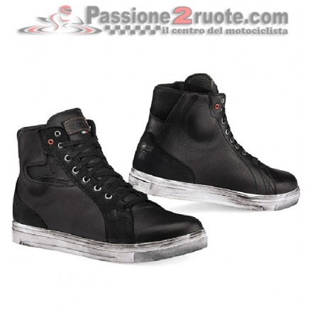 Scarpe moto impermeabili Tcx Street Ace Wp nero black waterproof shoes