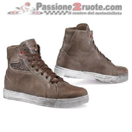Scarpe moto impermeabili Tcx Street Ace wp marrone coffee brown shoes