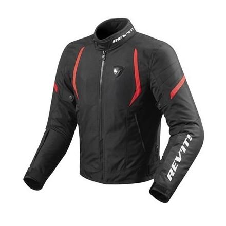 Giacca moto Revit Rev'it Jupiter 2 man Black red jacket