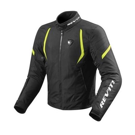 Giacca moto Revit Rev'it Jupiter 2 man Black yellow jacket
