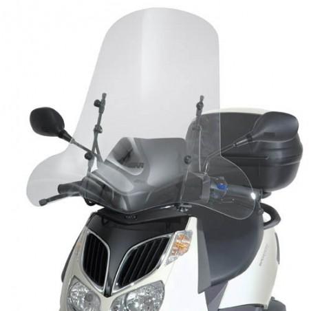 Parabrezza Paravento Aprilia Sportcity 125 200 250 dal 2001 al 2008 Givi 105A e attacchi A129A windshield