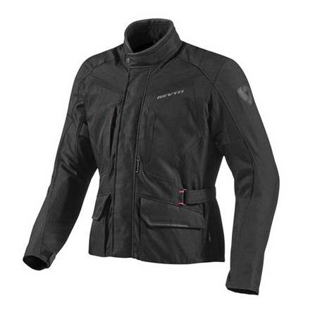 Giacca moto touring 4 stagioni Rev'it Voltiac nero jacket