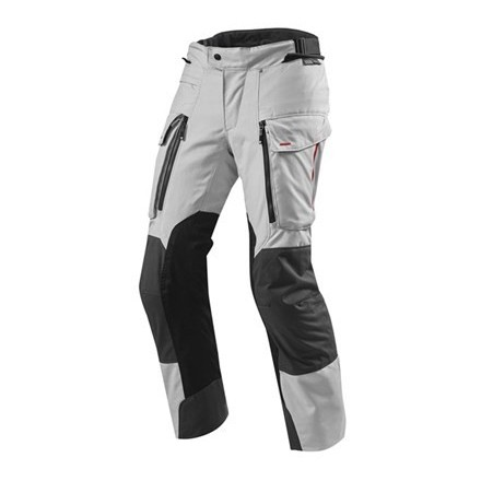 Pantalone moto touring turismo Rev'it Sand 3 grigio silver antracite triplo strato 4 stagiorni 3 layers 4 seasons pant trouser