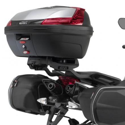 Attacco posteriore Givi 6702FZ Aprilia Shiver 750 rear rack moto