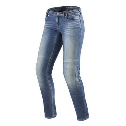 Jeans Rev'It Westwood Ladies SF Washed-out Blue