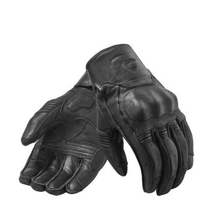 Guanti moto pelle revit Rev'It Palmer Black leather gloves