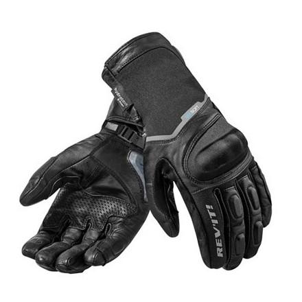 Guanti moto Rev'It Summit 2 H2O Nero black gloves