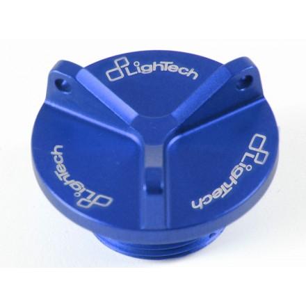 Tappo Olio Ducati Lightech OIL003 oil tank cap blu