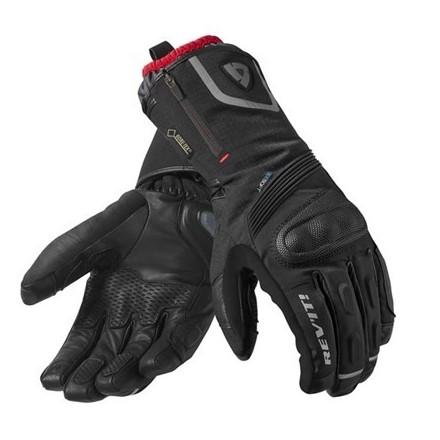 Guanti moto invernali Rev'it Taurus goretex Nero black winter gloves