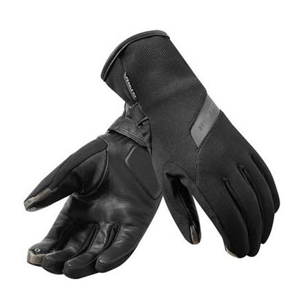 Guanti donna moto scooter invernali antipioggia Rev'It Sense H2O Nero black lady woman winter waterproof gloves