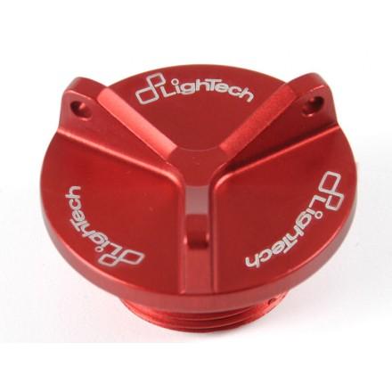 Tappo Olio Ducati Lightech OIL003 oil tank cap rosso red