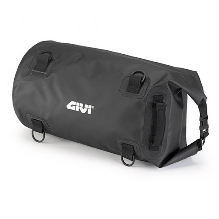 Borsa rullo impermeabile da sella o portapacchi 30 lt Givi EA114BK Waterproof cylinder seat bag