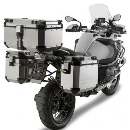 Top Case Valigia Bauletto posteriore alluminio Givi Trekker Outback 58 lt OBK58A