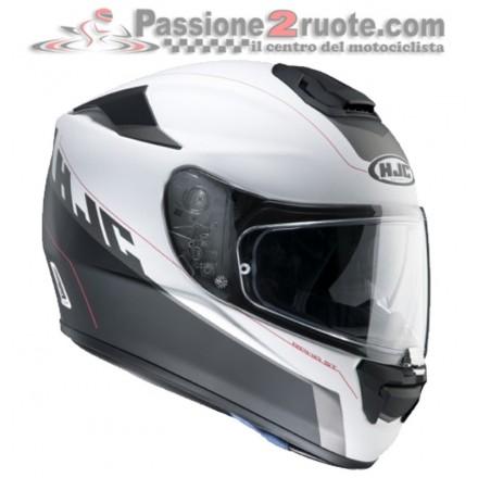 Casco integrale moto in fibra con visierino parasole Hjc Rpha St Two Cut Helmet casque